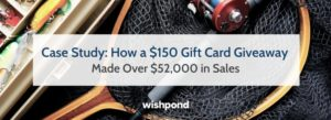 Case Study: How a $150 Gift Card Giveaway Made Over $52,000 in Sales