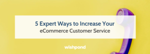 5 Expert Ways to Increase Your eCommerce Customer Service